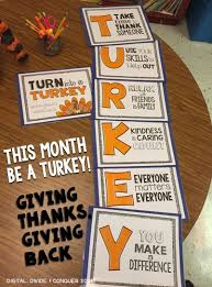 turn into a turkey a thanks and giving poster set it s free