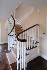 Timber Handrails And Balustrades Staircase Joinery Design And Make Bespoke Helical And Spiral
