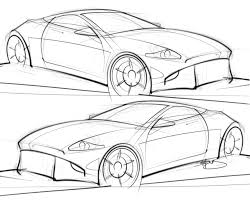 nissan 350z drawing coupe u2013 scottdesigner