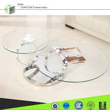rotating glass coffee table coffee tables thippo