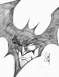 photos batman symbol drawing drawing art gallery