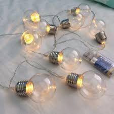 light bulb string lights light bulb string lights typo home furniture home decor on