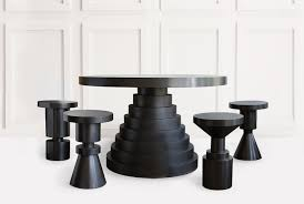 dining room stools layered dining table dining stools anna karlin