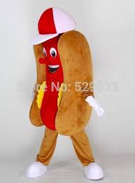 Hotdog Halloween Costume Aliexpress Buy Dog Hotdog Mascot Costume Size