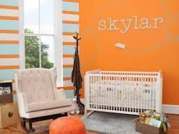 chambre bebe orange la peinture chambre bébé 70 idées sympas