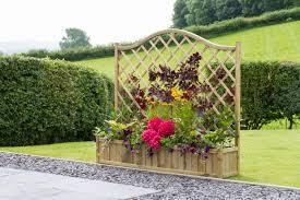 trellis with planter planters zest4leisure