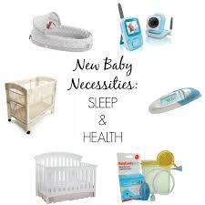 6 new baby necessities sleep health casual