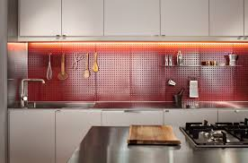 fascinating pegboard kitchen backsplash with ideas trends picture