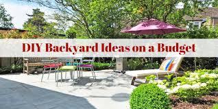 Backyard Landscaping On A Budget Diy Backyard Ideas On A Budget Buydig Com Blog