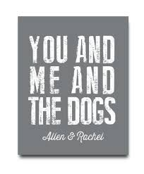 Hypolita Love Anchors The Soul - a great print for your favorite dog lover choose dog or dogs