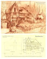 Antique House Plans 89 Best Vintage House Plans Storybook Images On Pinterest