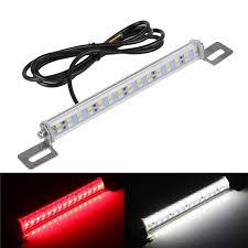 Aquarium Led Light Bar 30 Led Light Bar Brake Lights Tail Reverse Rear License Plate Lamp