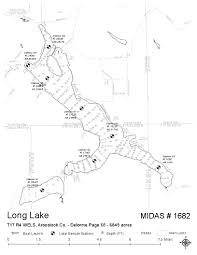 Maine County Map Lakes Of Maine Lake Overview Long Lake Saint Agatha T17 R3