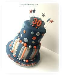 home design fancy mens 30th birthday cake designs im2 tier