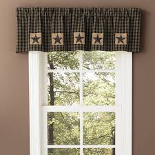 country curtains sturbridge patch black valance