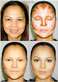 asian people have in transform palapa make up artist