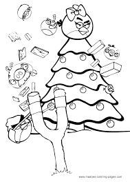 angry birds to color christmas angry birds coloring pages