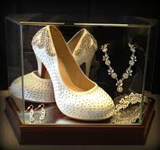 wedding shoes and accessories showcase your wedding accessories wedding shoes display