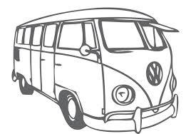 volkswagen van cartoon vw camper free vector art 593 free downloads