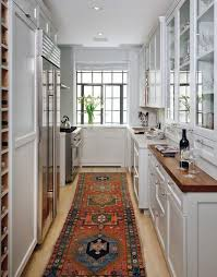 ideas for narrow kitchens small kitchen design ideas