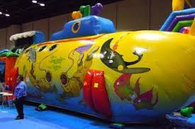 Human Pool Table by New Interactive Inflatable Game Rentals Michigan Ohio Midwest Florida