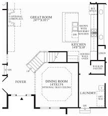 interesting stairs in house plans gallery best image engine