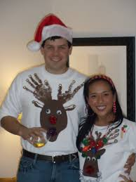 a classic pearl dirty santa u0026 tacky christmas sweater party sort of
