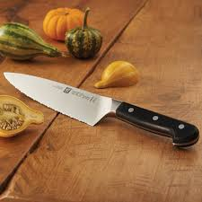 kitchen knives henckel zwilling pro 8 serrated chef s knife
