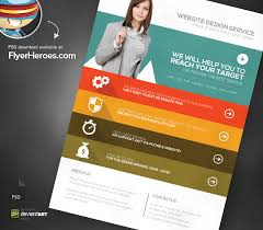 e brochure design templates eflyer template web design agency psd flyer template