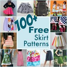 100 free skirt patterns the sewing loft