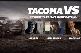 toyota web 2013 toyota tacoma faces unlikely scenarios in web videos truck