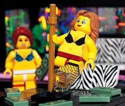 adult legos the unofficial lego strip club set is strictly for adults only