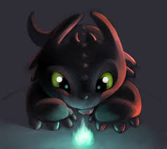 draw chibi night fury chibi toothless