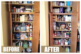 furniture amusing custom after and before organizing pantry ideas