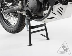 sw motech center stand with foot lever arm for kawasaki klr650 u002708