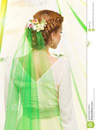 bridal back hairstyle bridal hairstyle stock photo image of gorgeous 56567818