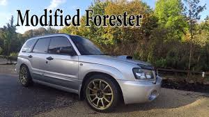 subaru modified subaru forester modified review 330 bhp youtube