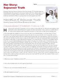 sojourner truth timeline women in history the podium and