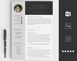 design resume template img etsystatic il 5021d1 1268477571 il 340x270