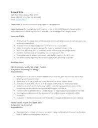 browse accountant resume template accounting resume format