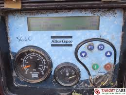 used atlas copco xahs416md air compressor 25000l min 12bar 880cfm