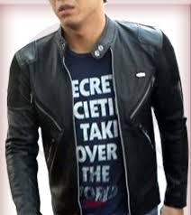 desain jaket warna coklat wa 0852 1145 2294 toko online jual jaket kulit ariel noah peterpan