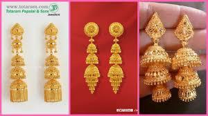 gold earrings for women daily wear gold earring design for women gold earring designs