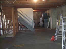 basement apartment entrance and basements