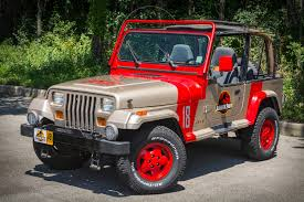 jurassic u0027 jeep produces dinosaur size enjoyment jeep wrangler
