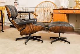 Ottoman Chair Eames Rosewood Lounge Chair 670 And Ottoman 671 For Herman Miller