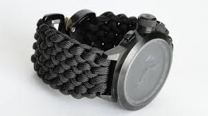 survival bracelet watches images How to make a conquistador paracord watch band diy watchband cbys jpg