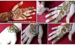 easy simple floral mehndi henna designs for mehndi designs