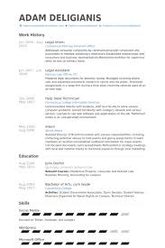 law firm internship resume sample examples for resumes