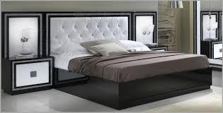 lit chambre adulte lit chambre adulte 514123 lit adulte design laqué blanc et noir
